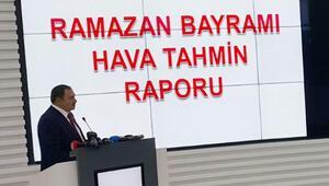 Bayramda hava nasıl olacak Bakan açıkladı... İstanbulda o günlere dikkat