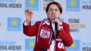 Meral Akşener: Erdoğanın beka sorunu var