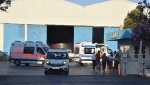 İzmirde, demir-çelik kalıplarının altında kalan işçi öldü