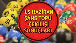 Şans Topu çekiliş sonuçları | MPİ 13 Haziran Şans Topu sonuç sorgulama