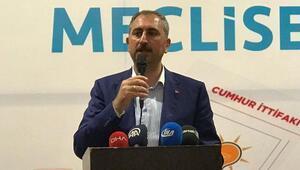 Adalet Bakanı Gül: Cumhur İttifakı'nın karşısında yıkım ittifakı var