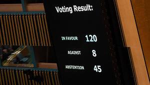 Son dakika: BMden Filistin halkı için karar