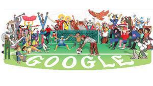 Dünya Kupası 2018 Googledan özel tema.. Dünya Kupası ilk hangi tarihte oynandı