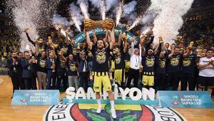 Ve şampiyon Fenerbahçe Doğuş