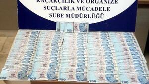 Eskişehirde sahte parayla yakalanan 2 kardeş gözaltında