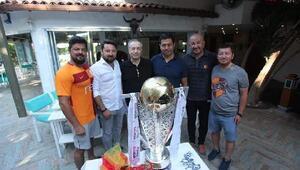 Galatasarayın kupası Bodrumda