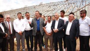 MHP heyetinden Kumluca ziyareti