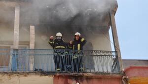 İslahiyede Suriyeli ailenin evinde yangın