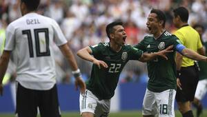 Meksika acı geldi Almanlara ilk maçta darbe