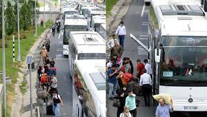 İstanbul bu sabah... Trafik kilit oldu vatandaşlar yola döküldü