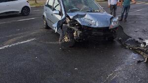 Orduda otomobil ile patpat çarpıştı: 9 yaralı