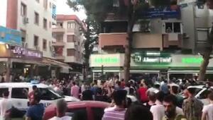 İzmirde polise saldırı şüphelisi 3 kişi gözaltına alındı