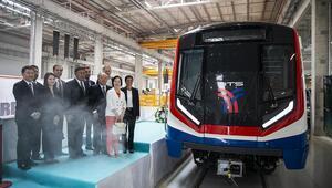 İlk metroya törenli ihracat