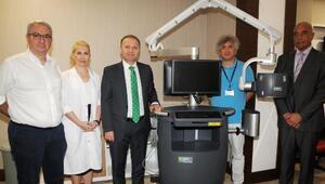 AÜye görüntüleme sistemi bağışlandı