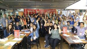 Gençlik programı CaseCampusun mezunlarından 60 kişi kendi girişimini kurdu