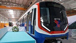 Türkiyenin ilk metro ihracatı için tören
