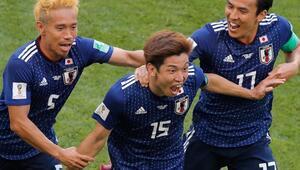 Japonya Kolombiyayı 2 golle geçti