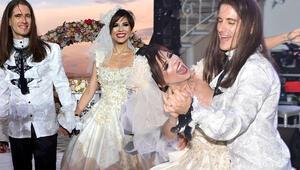 Ve evlendiler Ünlü çiftin mutlu günü