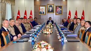 Diyarbakırda Bölge Güvenlik Toplantısı yapıldı