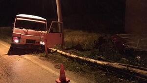 Şarkikaraağaçta kaza: 1 ölü
