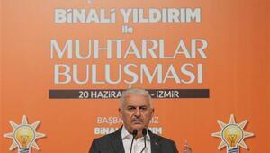 Başbakan Yıldırım, İzmirde konuştu