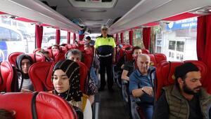 Kayseri  trafik polisinin tedbirleri kaza sayısını düşürdü