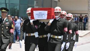Şehit Sözleşmeli Piyade Onbaşı, Malatyada gözyaşlarıyla uğurlandı