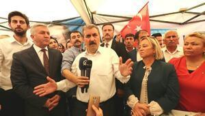 Destici: Türk hukuk sistemi Demirtaşı yargılamayıp, madalya mı takacaktı
