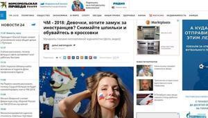 Rus medyası, Dünya Kupasındaki koca avcısı kadınları yazdı