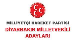 MHP Diyarbakır Milletvekili Adayları kimler 2018 MHP Diyarbakır Adayları