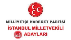 İstanbul MHP Milletvekili adayları kimlerdir İstanbul MHP adayları