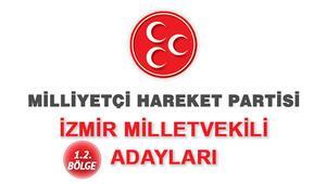 İzmir MHP Milletvekili adayları kimlerdir İzmir MHP adayları