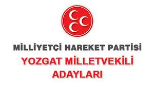 MHP Yozgat Milletvekili adayları 2018 MHP Yozgat adayları