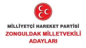 MHP Zonguldak Milletvekili adayları 2018 MHP Zonguldak adayları