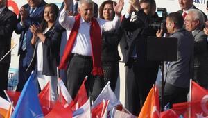 Başbakan Yıldırım: İttifakın gizli ortağı HDPdir