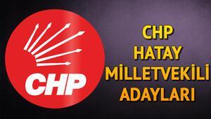 CHP Hatay Milletvekili Adayları kimler 2018 CHP Hatay Adayları
