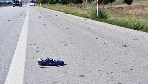 Otomobilin çarptığı yaya öldü; kimliği belirlenemedi
