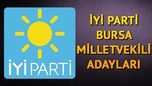 İYİ Parti Bursa milletvekili adayları kimler 2018 Bursa İYİ Parti adayları