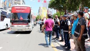 CHP ve MHPden Manisada seçim yürüyüşü