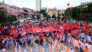 Kahramankazan'da seçim öncesi 'Sevgi Yürüyüşü' düzenlendi