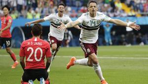 Meksika dalga dalga gidiyor Maçta 3 gol...