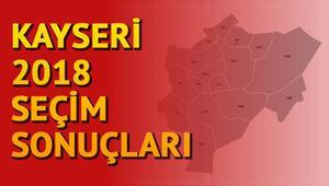 24 Kasım Kayseri seçim sonuçları açıklandı.. Kayseri milletvekili listesi