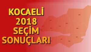 Kocaeli seçim sonuçları için son veriler.. 24 Kasım Kocaeli milletvekili listesi