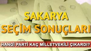 Sakarya seçim sonuçları 24 Haziran.. Sakarya milletvekili listesi