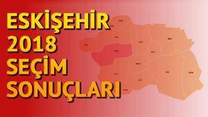 Eskişehir 2018 seçim sonuçlarına göre hangi parti ne kadar oy aldı