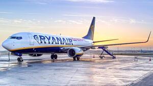 Ryan Air, Dublin-Dalaman seferi gerçekleştirildi