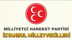 İstanbulda MHPnin Milletvekilleri kimler oldu MHP İstanbul 1, 2. ve 3. bölge milletvekilleri