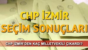 CHP İzmir milletvekili listesi.. CHP İzmir 1. 2. bölge seçim sonuçları