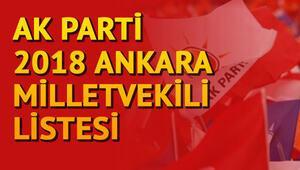 Ankarada Ak Parti milletvekilleri kimler oldu Ankara 1, 2. ve 3. bölge milletvekilleri