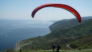 İstanbul'un yanı başındaki yamaç paraşütü merkezi: Uçmakdere